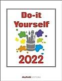 Do-it Yourself weiß 2022 - Wandkalender - Bastelkalender - DIY-Kalender - 24x31