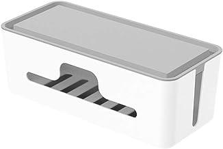 Caixa organizadora de cabos Cabilock para gerenciamento de cabos, caixa organizadora de gerenciamento de fios, capa escond...