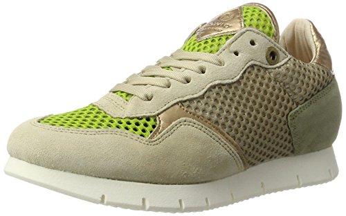 nobrand Damen Equinox Sneaker, Beige (beige mesh), 36 EU