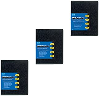 Itoya Art Profolio Evolution 5 x 7 Presentation Display Book Pack of 3 + Photo4Less Cleaning Cloth