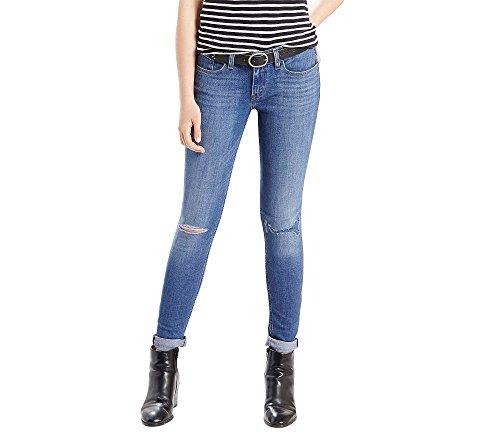 Levi's Women's 535 Super Skinny Jean, Blue Sage Lane, 24 (US 00) R