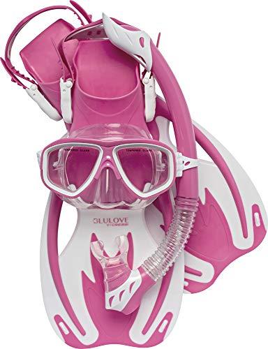 Cressi Rocks Kids Set, Pink/White, S/M