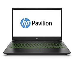 HP Pavilion Gaming 15-cx0002ng (15,6 Zoll/ Full HD IPS) Gaming Laptop (Intel Core i5-8300H, 128 GB SSD + 1 TB HDD, 8 GB RAM, Nvidia GeForce GTX 1050Ti 4GB, Windows 10 Home 64) schwarz / grün