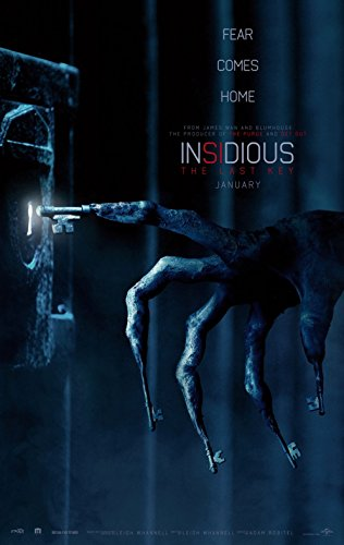 Poster Insidious The Last Key Movie 70 X 45 cm