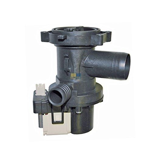 Ablaufpumpe mit Pumpenstutzen und Filter Waschmaschine wie Whirlpool/Bauknecht 481010584942 u 480111100205