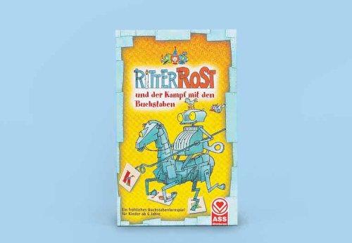 Spielkartenfabrik Altenburg 71250 - Ritter Rost u. d. Kampf m. d. Buchstaben