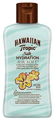 Hawaiian Tropic Silk Hydration Air Soft After Sun Lotion Coconut Papaya Mini, 60 ml, 1 St.