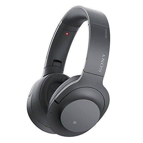 ソニー ワイヤレスノイズキャンセリングヘッドホン h.ear on 2 Wireless NC WH-H900N : Bluetooth/ Amazon Alexa搭載 /ハイレゾ対応 最大28時間連続再生 密閉型 マイク付き 2017年モデル 360 Reality Audio認定モデル グレイッシュブラック WH-H900N B