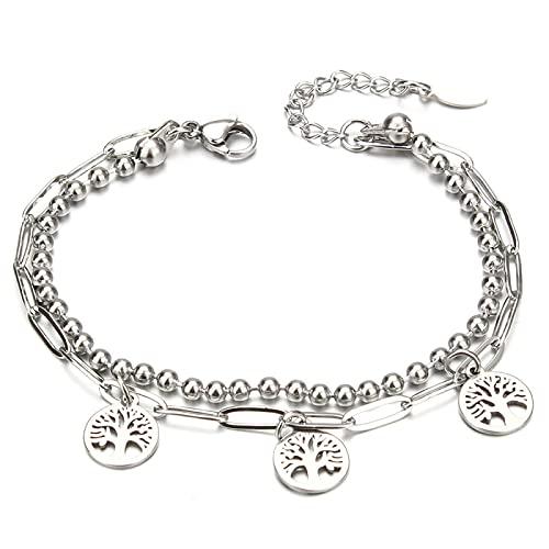 Pulsera ZIYUYANG, pulsera de acero inoxidable para mujer, accesorios, joyería 13