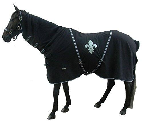 der-pferdeshop Abschwitzdecke mit Halsteil, Namen und Motiv von CATAGO (115)
