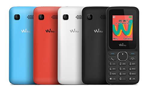 Wiko Lubi5 Plus Téléphone portable débloqué 2G (Ecran: 1,8 pouces - 32Mo - Double SIM) Turquoise