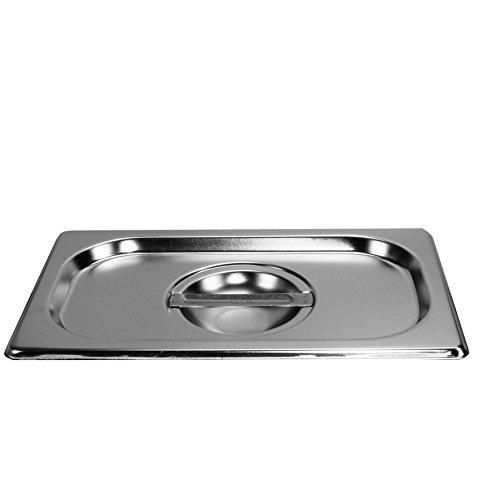 Deckel Gastronormbehälter 1/4 GN Behälter Edelstahl Gastro Gefäß Norm
