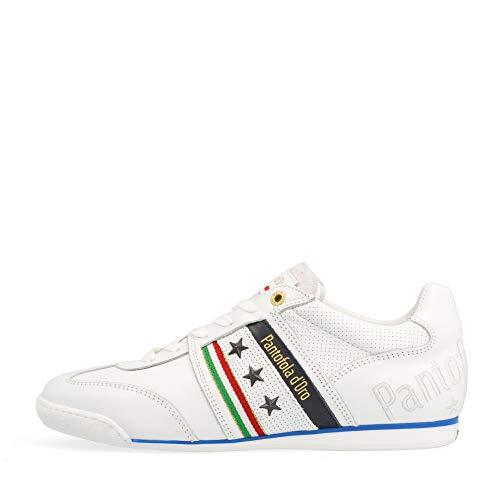 Pantofola d'Oro Baskets Low Imola Romagna Uomo Low pour homme, Blanc., 44 EU