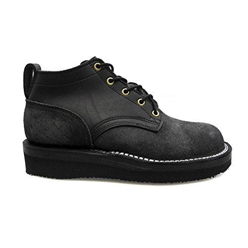 [NICKS BOOTS] (ニックスブーツ) OX OXFORD SMOOTH 3inch オックスフォード スムース 3インチ ブラック E ワイズ 25.5cm/US7.5 OX-BLACK [並行輸入品]