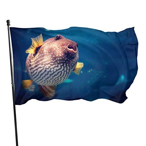 Puff Bandera  marca EVETODA