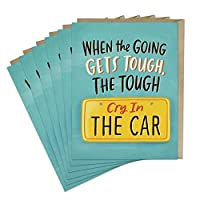 6-Pack Em & Friends Cry In The Car Empathy Card
