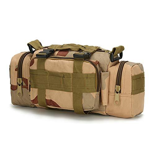 Jszzz Weekender Bag Multifunktions Herren Maxi-militärische Taktische Taschen Umhängetasche Como/Tactical Camping Wandern BikeTrekking Sport Militär Reise Tarnung Handtasche, 5L