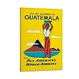 KDIU Guatemala-Poster, dekoratives Gemälde, Leinwand,