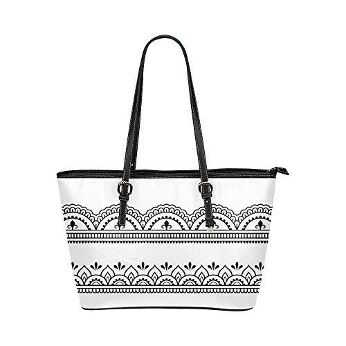 Élément traditionnel indien grand cuir portable poignée supérieure main fourre tout sacs sacs à main causales épaule zippée achats sac à main organisateur de bagages pour dame filles femmes