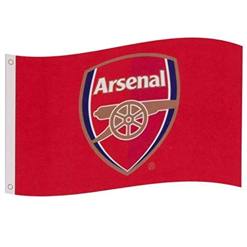 Arsenal Football Club Official Large Flag Crest Gift Game Fan Banner Gunners