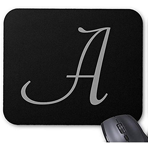 Smity Mouse Pad 30 * 25 * 0,3 cm Mauspad Fashion Designed Mousepad Büro- und Familien-Desktop-Pads Monogramm Eine Elegante Mausmatte