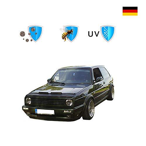 Haubenbra Schwarz Für Golf II/Jetta II (1984-1992) Tuning Steinschlagschutz Maske