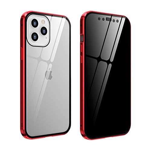 FHZXHY Carcasa de cristal para iPhone 12 Mini (5 g 5.4 pulgadas...