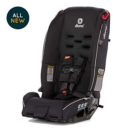 Diono Radian 3R All-in-One Convertible Car Seat, for Children from Birth to 100 Pounds, Black