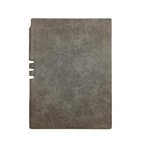Barra de ovejas delicada textura suave superficial puede ser interpolado pluma cuaderno A5 cuaderno, gris, A5