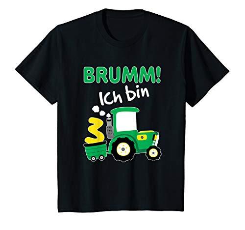 Kinder Traktor Shirt 3. Geburtstag Jungen 3 Jahre Shirt Trecker T-Shirt