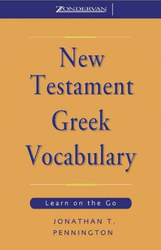 New Testament Greek Vocabulary Titelbild