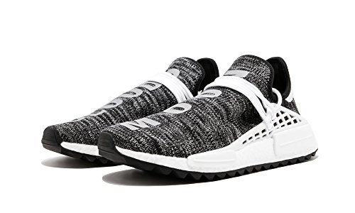adidas Originals PW Human Race NMD - Zapatillas de senderismo para hombre, (Negro/blanco (core black/footwear white/foot)), 39.5