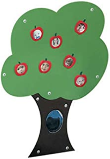 Children's Factory Fuzzy Loop Story Tree, Kids Bulletin Board, Hook & Loop Classroom Learning Board for Toddlers, Interactive Teaching Aid