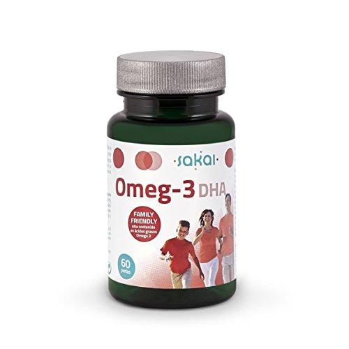 Sakai Omeg-3 DHA Complemento Alimenticio - 60 Cápsulas
