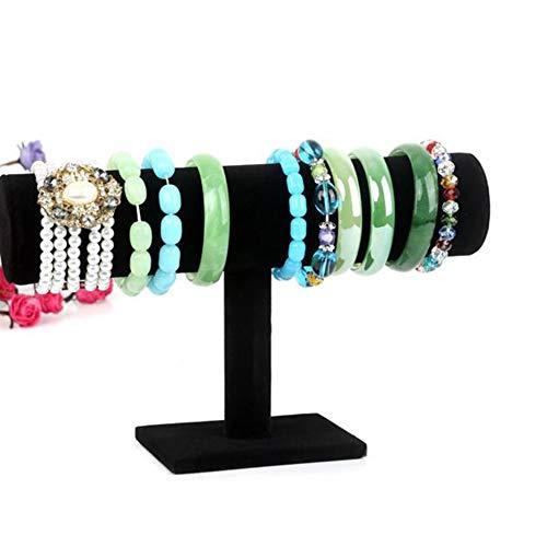Bracelet Display Stand, Velvet Bracelet Holder Stand Watch Display Stand T-Bar Jewellery Stand for Bracelets, Watches, Anklets, Bangles New Released