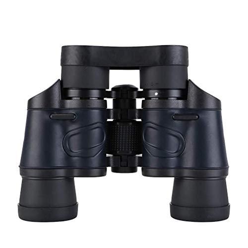 Stella Fella Kompaktferngläser for Erwachsene, leistungsfähiges Fernglas Ansicht Okulare, BAK4 Prisma Objektiv, Klar schwache Licht Nachtsicht, Ferngläser for die Vogelbeobachtung Jagd (schwarz)