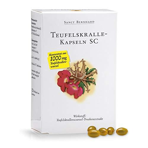 Sanct Bernhard Teufelskralle-Kapseln SC mit Teufelskrallenwurzel-Trockenextrakt 120 Kapseln