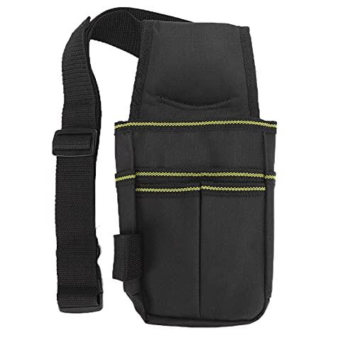 Cinturón de herramientas, bolsa de herramientas para hombre con pulsera magnética, correa de nailon resistente para herramientas, pulsera magnética imanes potentes para tornillos