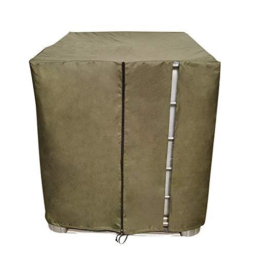 Househome - Lona para depósito de agua doméstica, funda IBC, película de protección UV con corte, contenedor de depósito IBC, película UV