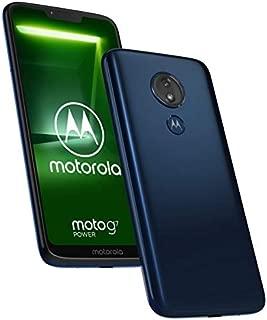 Motorola G7 Power 64GB GSM Nano-SIM Phone w/12MP Camera - Marine Blue (Standard Version)