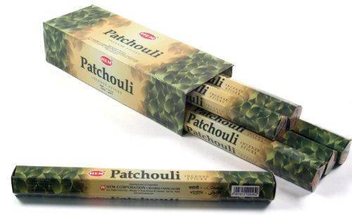 Hem Patchouli Räucherstäbchen Grosspack 6 Päckchen / HEM Incense