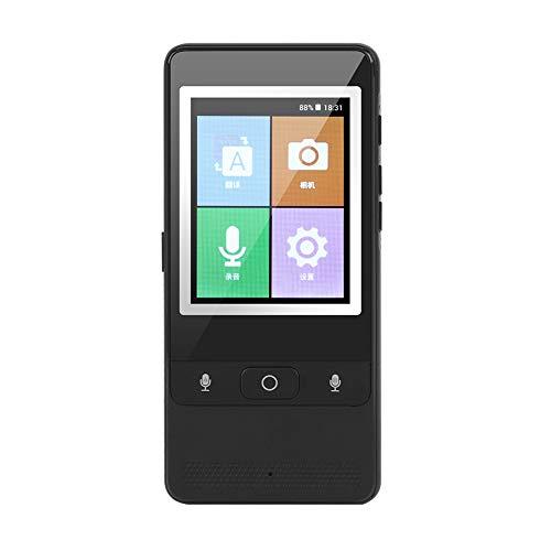 VBESTLIFE Traductor Instantaneo de Voz Portátil Inteligente 43 Idiomas Conexion de Red Soporte WiFi + Hotspot con Camara Soporte de Traducción de Imágenes