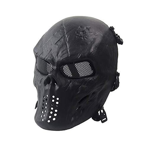 Masque de Masque métallique en Maille BB protéger pour Tactical Airsoft Paintball Hockey Cosplay World Shopping4U