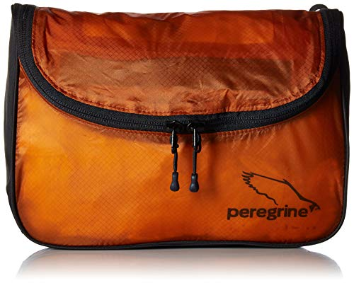 Peregrine Ultralight Hanging Toiletry Bag, Orange, 10 x 4 x 7-Inch