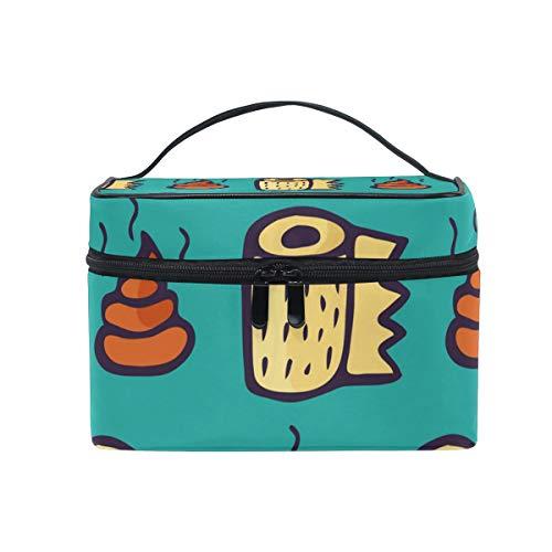 Reise-Make-up-Tasche, süße KOT-witzige Kosmetiktasche, Organizer für Frauen, Mädchen, Kulturbeutel, tragbare Aufbewahrung, Kosmetik