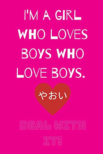 Deal With It: For the Love of Yaoi (Hot Pink)