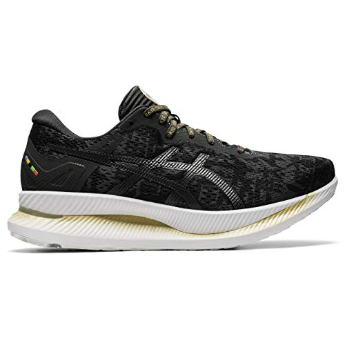ASICS 1012A930-001_39, Zapatillas de Running Mujer, Noir Gris Foncã, EU