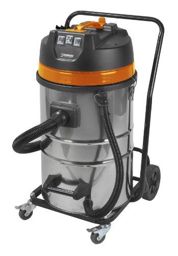 Euromac Force 3080 3000 W Noir, Orange, Acier Inoxydable