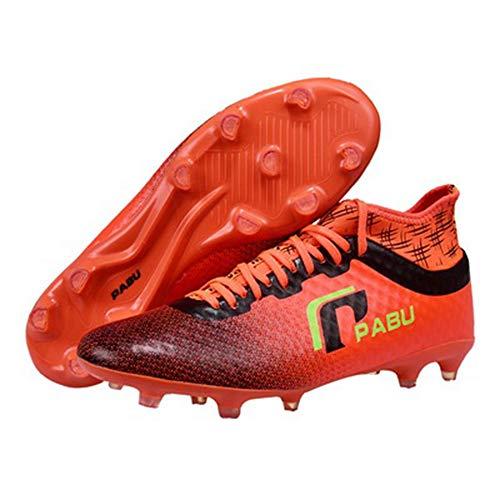 LYLZR Fußballschuhe Fußballschuhe Unisex-Kindermode Neueste professionelle Fußballschuhe High-Tech European Standard Größe 36 Rot