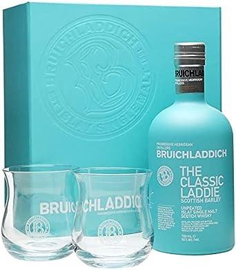 EL CLÁSICO LADDIE ISLAY SCOTCH SCOTCH WHISKY GLASS PACK 70 CL
